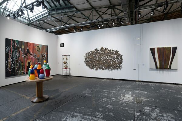 carlier | gebauer at Art Berlin 2017, installation view