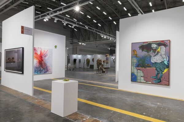Stevenson at Investec Cape Town Art Fair 2019, installation view
