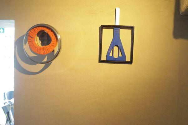 Nampei Akaki : Snakey Photobjects, installation view
