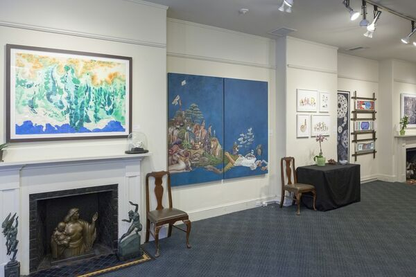 Life Is a Beautiful Place: A Radical Collaboration, installation view