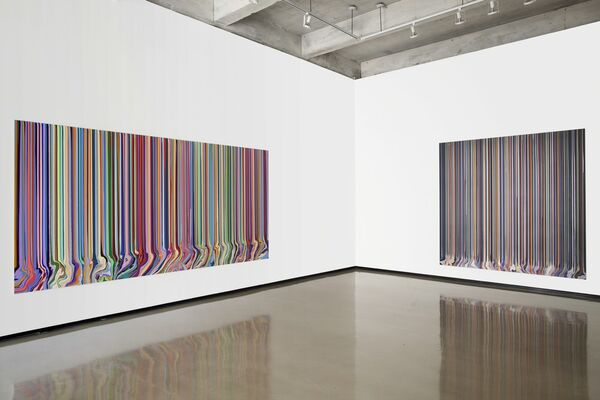 Ian Davenport: Doubletake, installation view