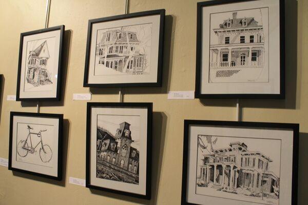 Bill Batson: Hopper Country, installation view