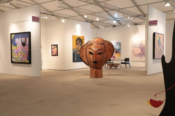 Opera Gallery at Art Miami 2016, installation view