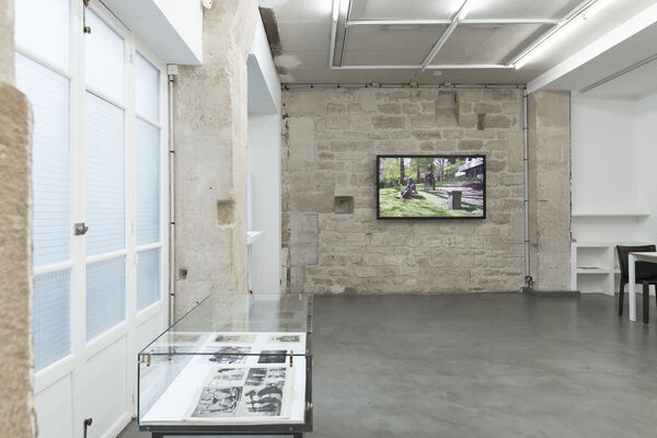 Prinz Gholam, 'Speaking of Pictures', installation view