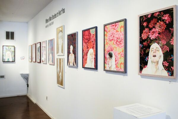 Emily Smith: When a Man Decides to Hurt You, installation view