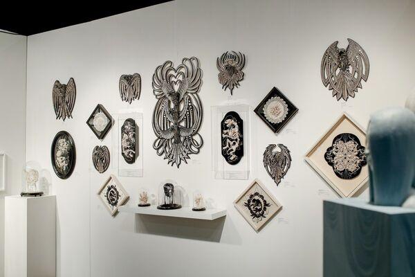 Paradigm Gallery + Studio at LA Art Show 2018, installation view
