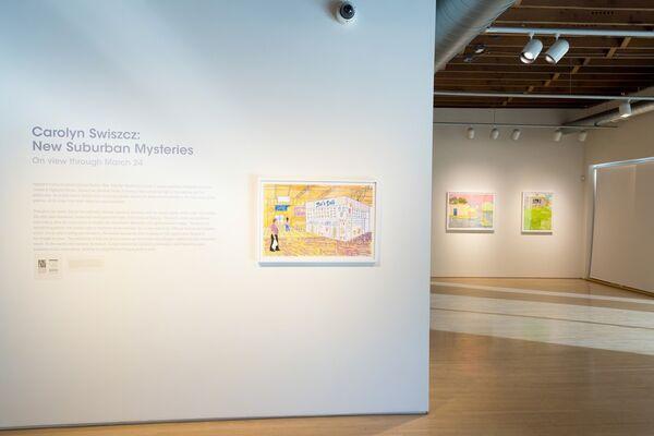 Carolyn Swiszcz: New Suburban Mysteries, installation view