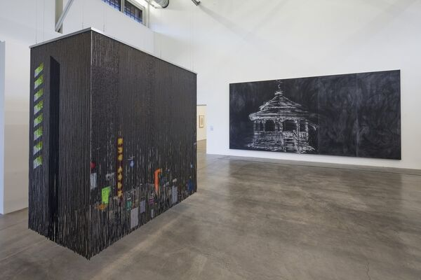 Dimensions of Black: A collaboration with the San Diego African American Museum of Fine Arts, installation view