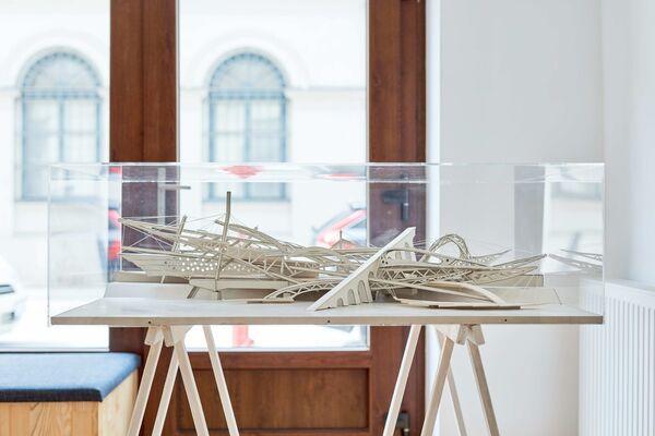 The Fun Never Sets | László Rajk, Andi Schmied, Dominika Trapp, installation view