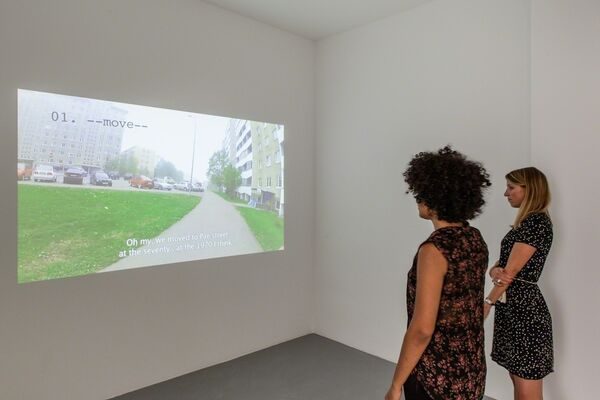 Mark Raidpere - A WAY, installation view