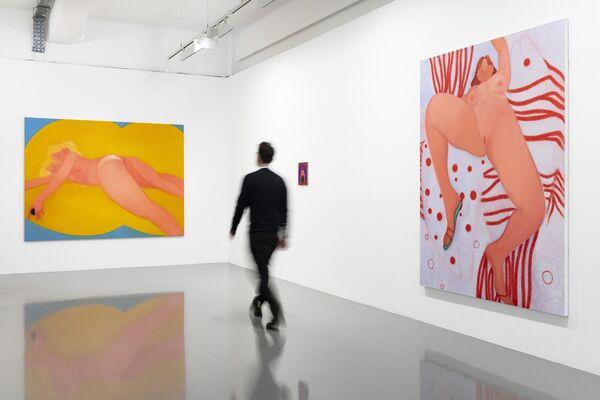 Condo 2020: Sofia Mitsola & Sedrick Chisom, installation view