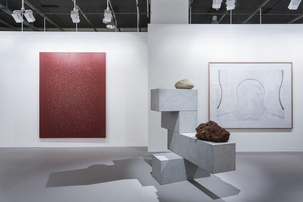 Galería OMR at Art Basel 2016, installation view