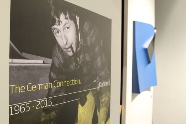The German Connection - Horst Kuhnert - 1965-2015, installation view