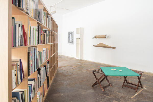 Apparatus 2.0: The Unreliable Library, installation view