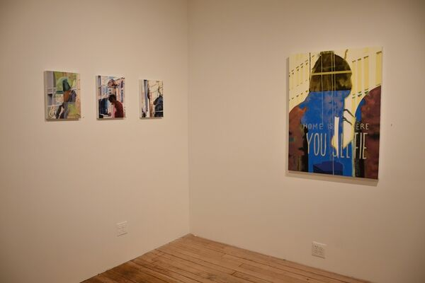 New Reflections On 14th Street, installation view