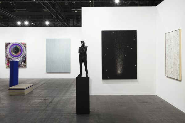 Perrotin at artgenève 2018, installation view
