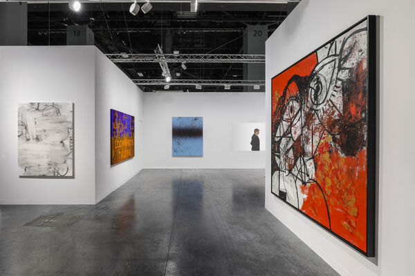 Simon Lee Gallery at Art Basel in Miami Beach 2019, installation view