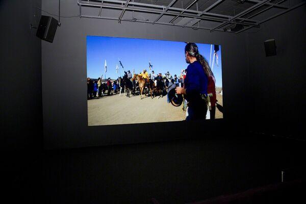 Sky Hopinka: Dislocation Blues, installation view