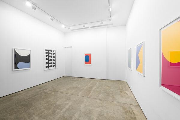 Leon Polk Smith: Prints, installation view