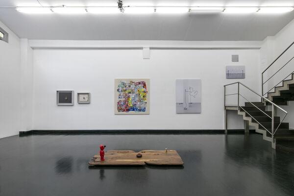 HyperGames. Danilo Buccella, Bruna Esposito, Franklin Evans, Igor Eškinja, Diango Hernández, Luca Pozzi, installation view