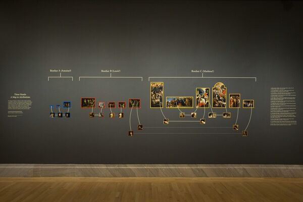 The Brothers Le Nain: Painters of 17th-Century France, installation view