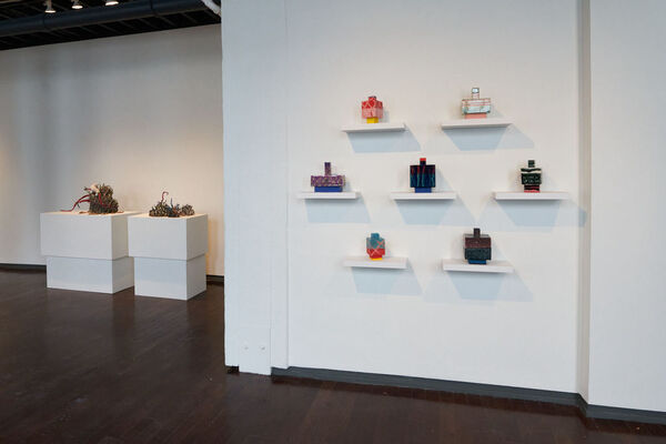 Sculpture I, installation view
