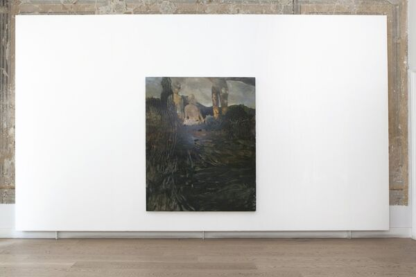 Casting the Circle, installation view