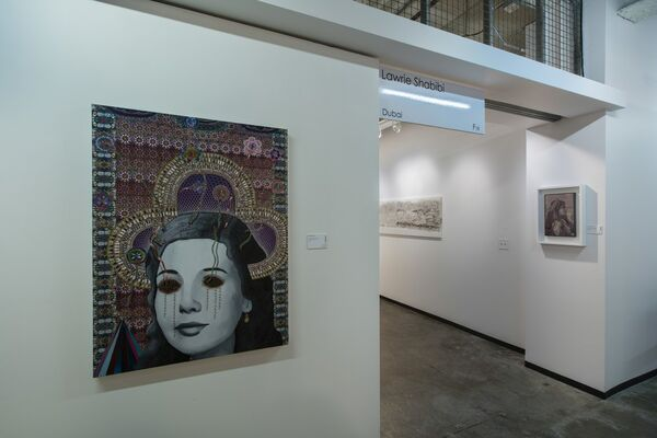 Lawrie Shabibi at Dallas Art Fair 2016, installation view