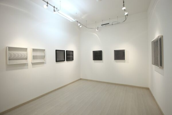 LUDWIG WILDING. Kinetische und Programmierte Kunst: 1967/2008, installation view