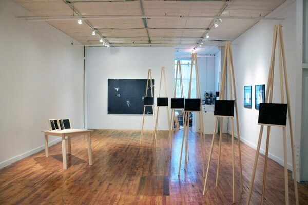 "Andrew Witkin - ""Satisfaction"", installation view"
