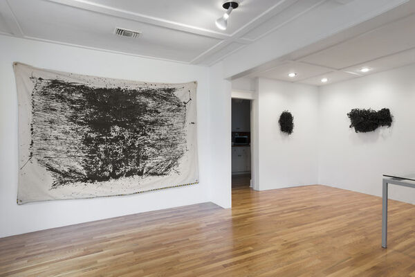 """James Crosby - """"Forms Between"""", installation view"""