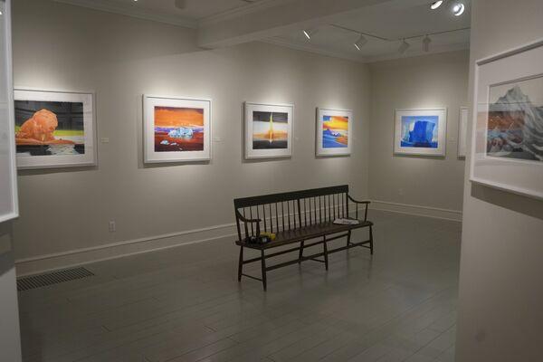 Scott Kelley | The Slipping of the Hydrogen Bonds, installation view