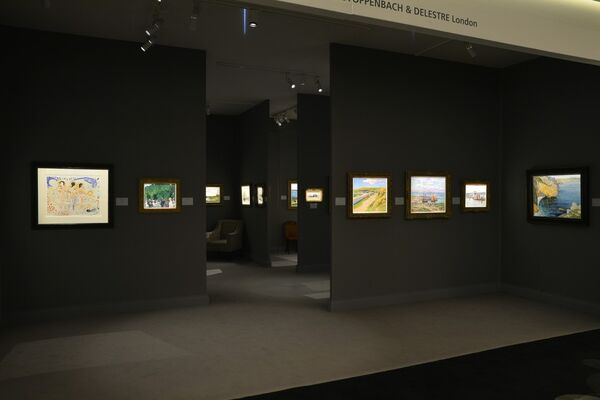 Stoppenbach & Delestre at TEFAF Maastricht 2019, installation view