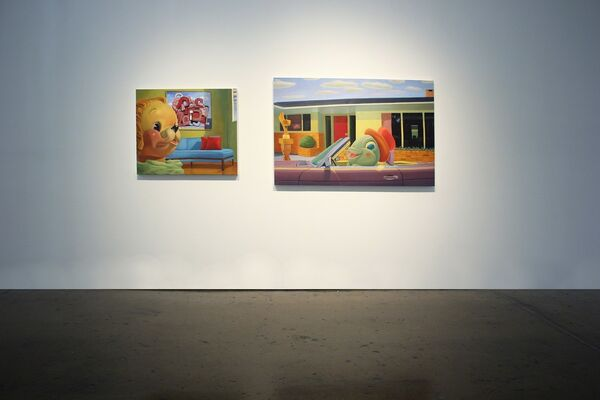 """""""Really?"""", installation view"""