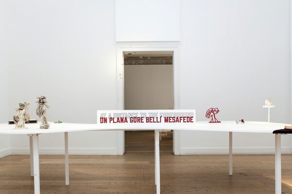 'This One Is Smaller Than This One', Carte Blanche to Serkan Özkaya & Pauline Bebecka, installation view