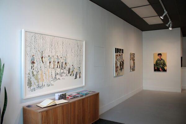 figureground, installation view