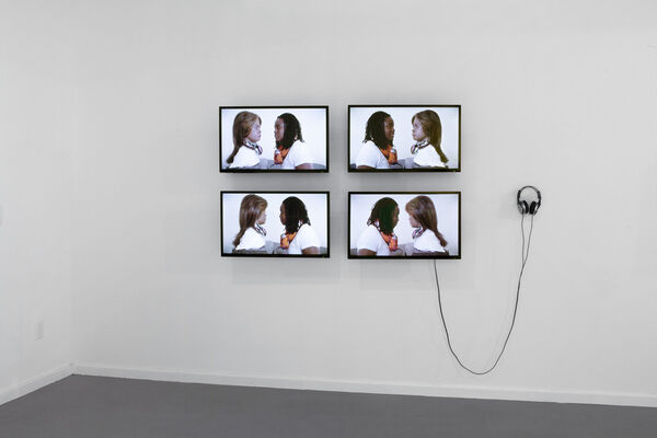 Virtual Beings, installation view