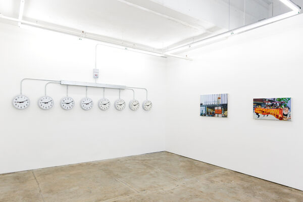 Within Time, Eddie Arroyo and Agustina Woodgate, installation view