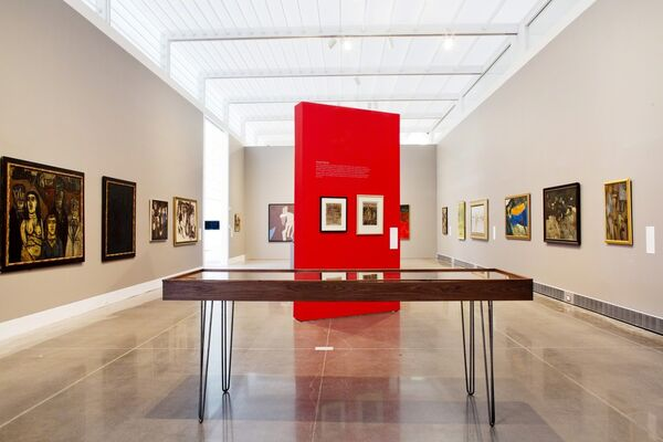 After Midnight: Indian Modernism to Contemporary India, 1947/1997, installation view