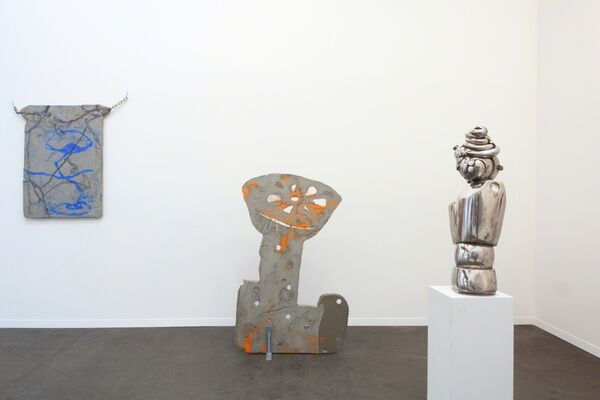 Base-Alpha at Art Brussels 2016, installation view