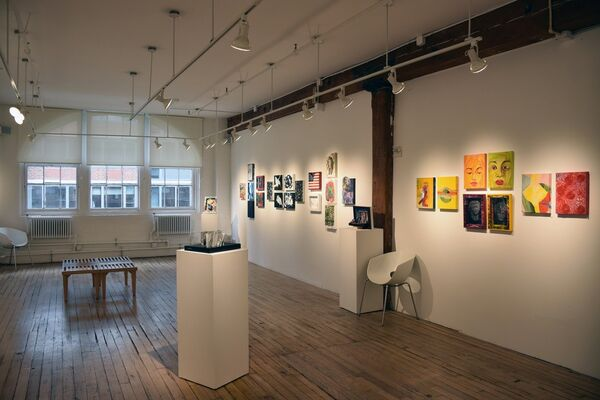 Small Works Show, installation view