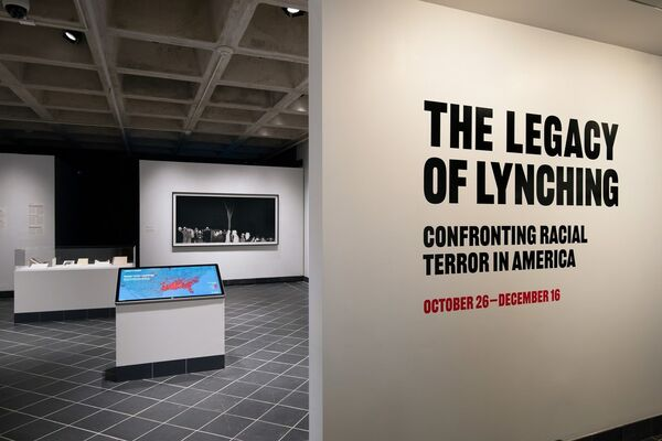 The Legacy of Lynching: Confronting Racial Terror in America, installation view