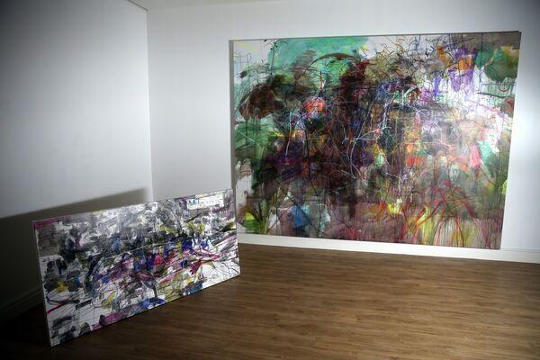 Zhang Lehua | True Exist Void, installation view