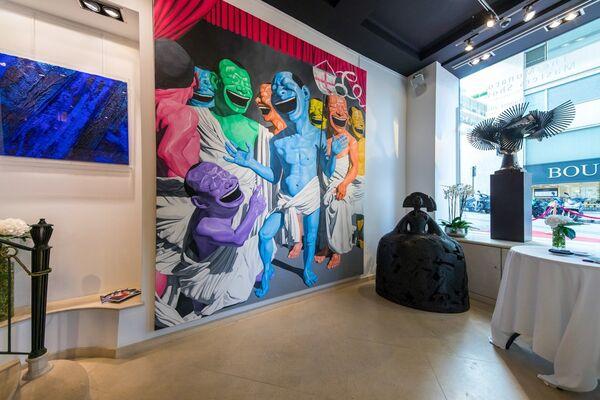 The Monaco Masters Show - 10th Anniversary, installation view