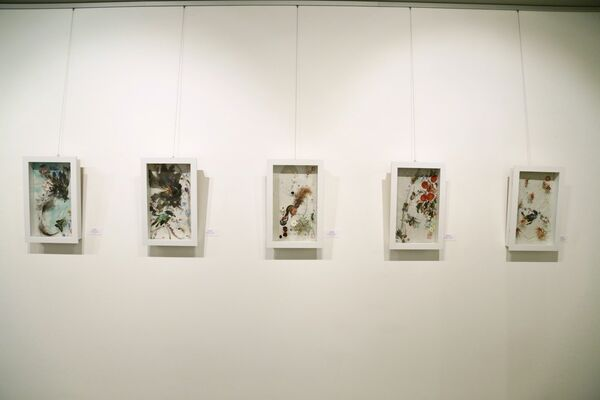 East West Rhythmical Harmony, installation view