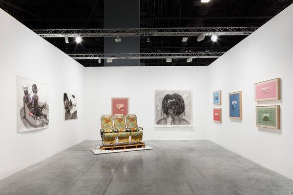 Anat Ebgi at Art Basel in Miami Beach 2019, installation view
