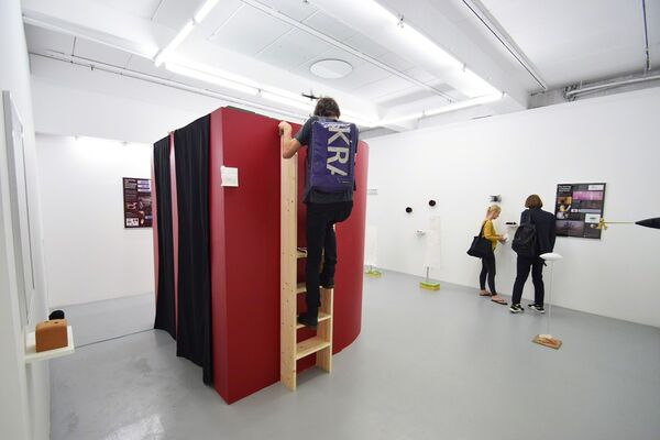 Haseeb Ahmed - Wird, installation view