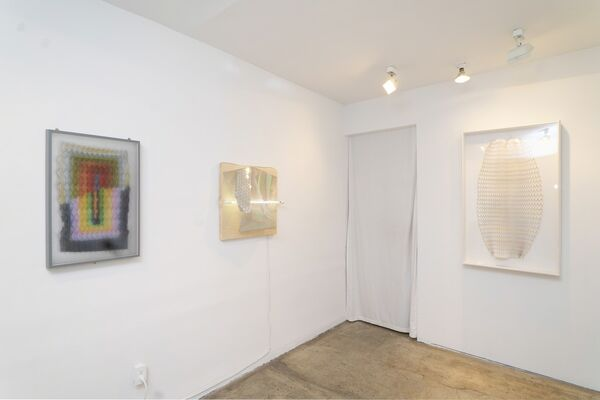 Optic Wave, installation view