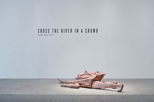 Cross the River in a Crowd, installation view