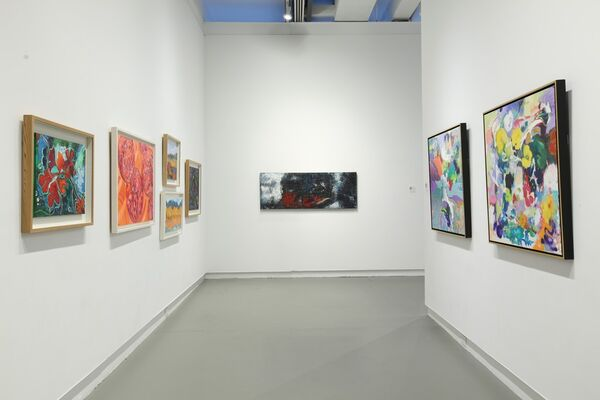 Autumn Equinox: Collective Visions in Abstraction and Figuration, installation view